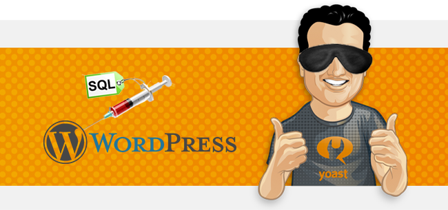 yoast wordpress plugin sql injection