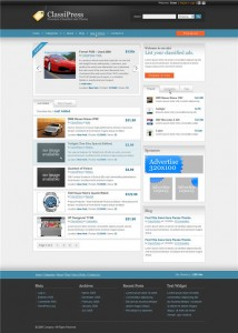 classipress 3.0 homepage comp