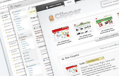 clipper overview screenshots Best Theme/Script For Creating Coupon Site