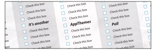 Another AppThemes Poll