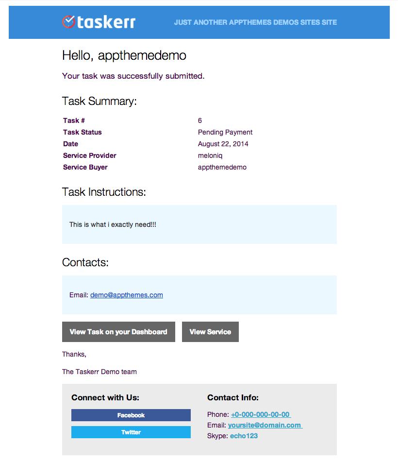Taskerr - A Micro Jobs WordPress Theme