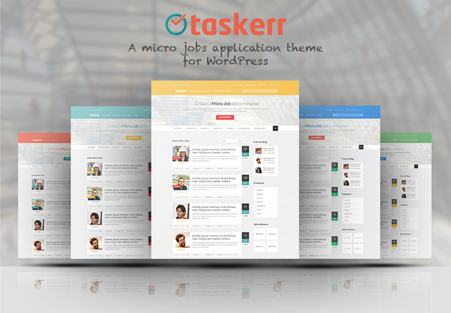 taskerr theme launch post