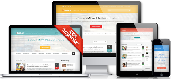 WordPress Micro Jobs Theme