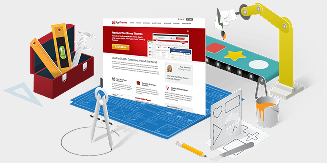 AppThemes website redesign image